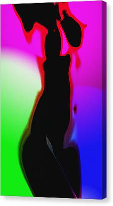 Female In Color 2 Canvas Print by Steve K
