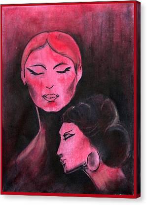 Femina Canvas Print