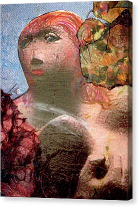 Femininity Canvas Print by Gail Butters Cohen