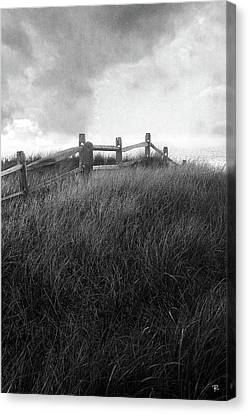 Canvas Print featuring the photograph Fence by Tom Romeo