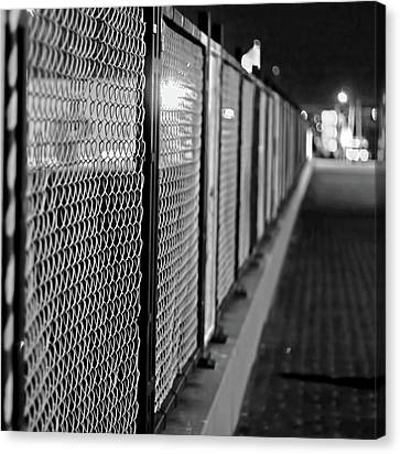 Fenced In Or Fenced Out Canvas Print
