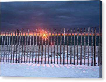 Fencing Canvas Print