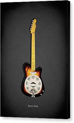 Fender Reso-tele Canvas Print