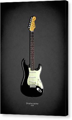 Fender Stratocaster 59 Canvas Print by Mark Rogan