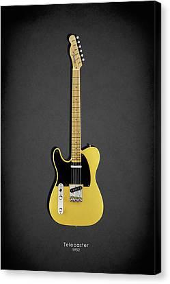 Fender Telecaster 52 Canvas Print by Mark Rogan