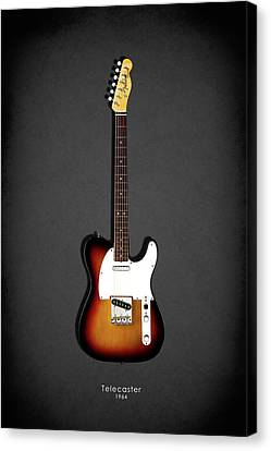 Fender Telecaster 64 Canvas Print by Mark Rogan