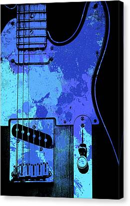 Fender Telecaster Electric Guitar Canvas Print
