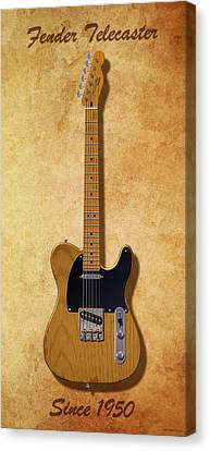 Fender Telecaster Since 1950 Canvas Print