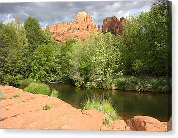 Feng Shui In Sedona Canvas Print