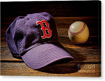 Ballpark Canvas Print - Fenway Memories by Olivier Le Queinec