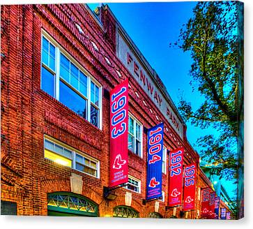 Fenway Park 132 Canvas Print by Jeff Stallard