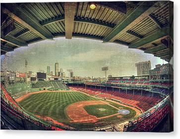 Fenway Park Ball Park - Boston Red Sox Canvas Print