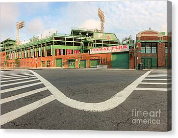 Crosswalk Canvas Print - Fenway Park IIi by Clarence Holmes