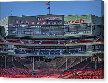 Fenway Park Interior Canvas Print by Susan Candelario