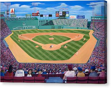 Fenway Park Canvas Print by Richard Ramsey