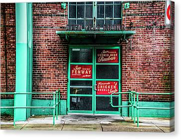 Fenway Park - The Bleacher Bar Canvas Print by Bill Cannon