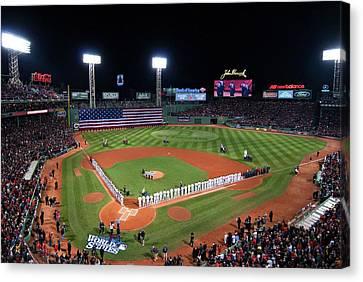 Fenway Park World Series 2013 Canvas Print
