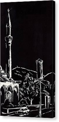 Ferhat-pasha Mosque  Canvas Print by Ramo Sabanovic
