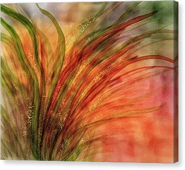 Fern Fantasy Canvas Print by Brenda Bryant