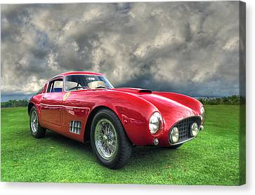 Ferrari 1956 250 Gt Competizione Berlinetta Canvas Print