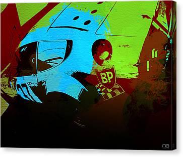Ferrari 250 Gtb 2 Canvas Print by Naxart Studio