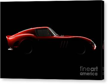 Ferrari 250 Gto - Side View Canvas Print