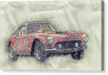 Vintage FERRARI Print on Paper or Canvas Giclee Poster