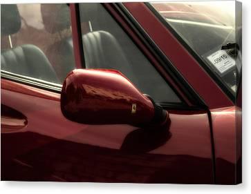 Ferrari 308 Side View Canvas Print