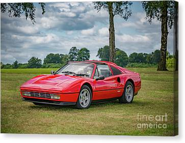 Canvas Print featuring the photograph Ferrari 328 Gts by Adrian Evans