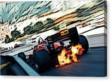 Ferrari 156/85 V6 Canvas Print
