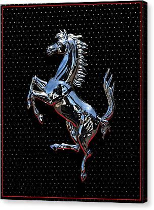 Ferrari Emblem 2 Canvas Print