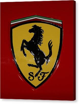Ferrari Emblem 4 Canvas Print