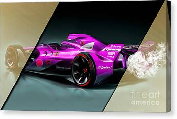 Ferrari F1 Collection Canvas Print