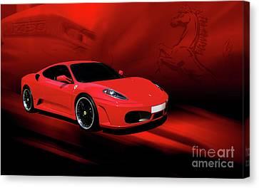 Ferrari F430 Canvas Print by Joel Witmeyer