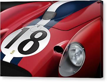 Ferrari Canvas Print by Jack Kruyne