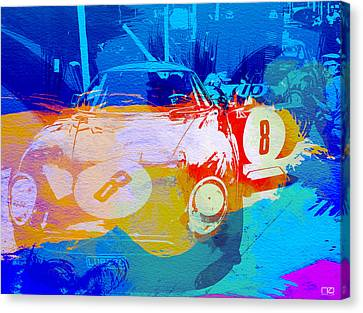 Gto Canvas Print - Ferrari Pit Stop by Naxart Studio