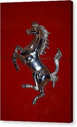 Ferrari Stallion Canvas Print by Rob Hans