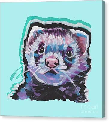 Ferret Canvas Print - Ferret Fun by Lea