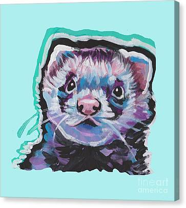 Ferret Fun Canvas Print