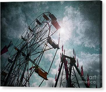 Ferris And Fury Canvas Print