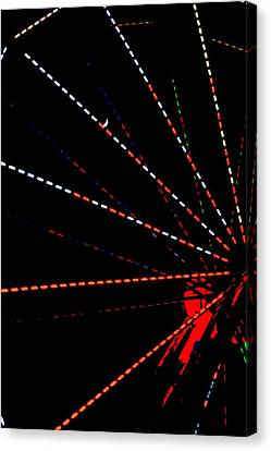 Ferris Wheel 2 Canvas Print by Dana  Oliver