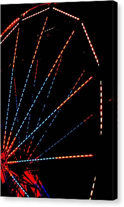 Ferris Wheel Canvas Print by Dana  Oliver
