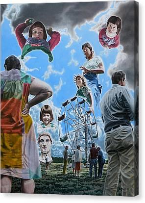 Canvas Print - Ferris Wheel by Dave Martsolf
