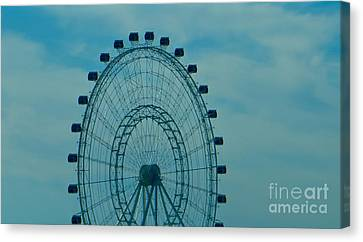 Ferris Wheel Fun Canvas Print