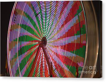 Ferris Wheel IIi Canvas Print by Clarence Holmes