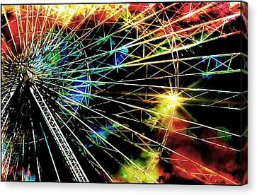 Ferris Wheel, Grand Roue Canvas Print