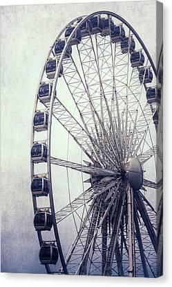 Ferris Wheel Canvas Print by Joana Kruse