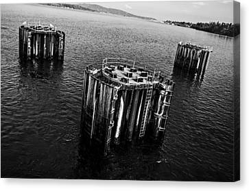 Ferry Bumpers Canvas Print by Pelo Blanco Photo