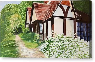 Ferry Cottage Canvas Print