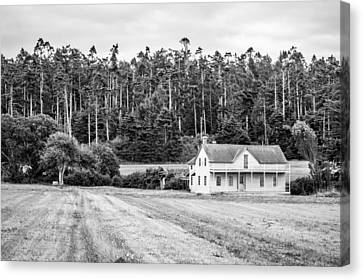Ferry House, Whidbey Island, Washington, 2015 Canvas Print by Steve G Bisig
